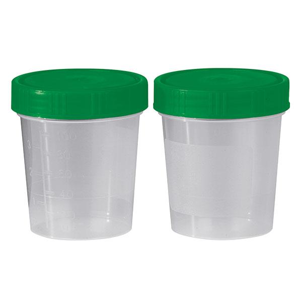 Urinbecher 125 ml  mit Schraubdeckel Unsteril