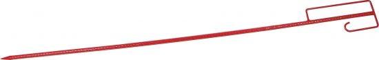 Absperrleinenhalter Rot 1250 mm