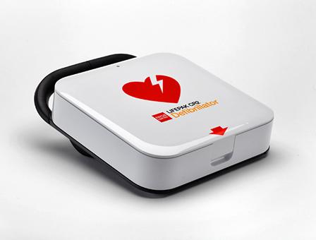 LIFEPAK® CR 2 Defibrillator halbautomatisch