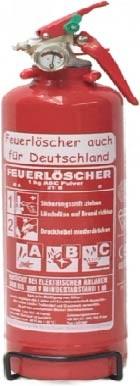 Pulverdauerdruck-Feuerlöscher Göckler DF1MF 1 kg 2 LE