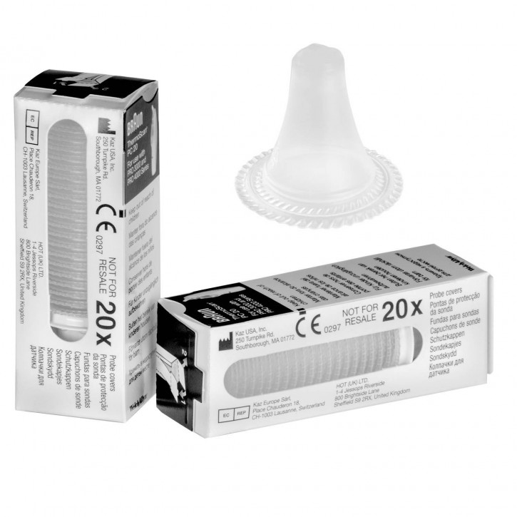 Einmal-Schutzkappen/Ohrtips für Braun ThermoScan® Pro 6000