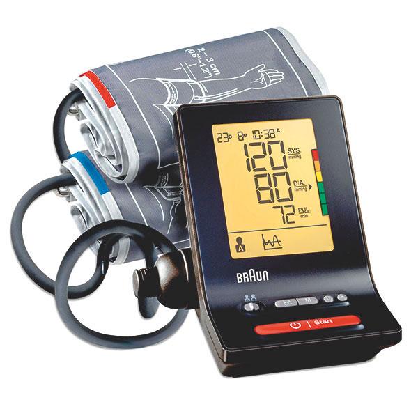 Braun Exact Fit 5 Oberarm-Blutdruckmessgerät