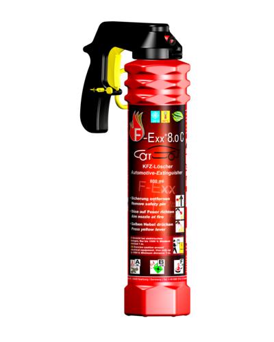 F-Exx 8.0 C Feuerlöscher - Der Löscher