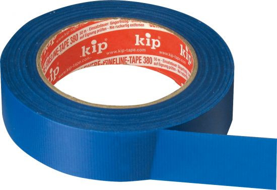 Gewebe FineLine-tape, blau 30 mm x 50 m