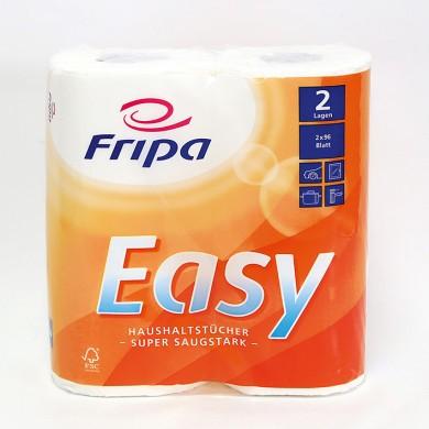 Fripa - Easy Küchenrollen 2-lagig (14 Pack à 2 x 96 Bl.)