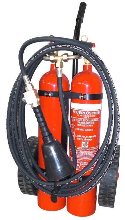 Kohlendioxidfeuerlöscher Göckler GÖC10T-6 10kg