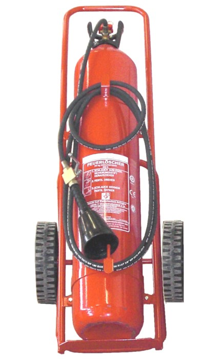 Kohlendioxidfeuerlöscher Göckler GÖC30T-6 30kg