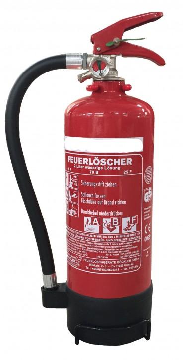 Fettbrand Dauerdruck-Feuerlöscher Göckler 2 L  2 LE
