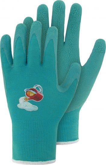 Kinderhandschuhe beschichtet Gr. 4 türkis
