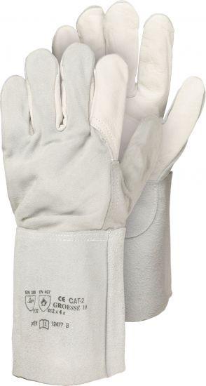 Schweißer-Handschuh Größe 10