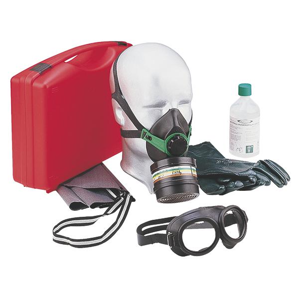 GGVS/ARD-Koffer Gas-Plus gefüllt
