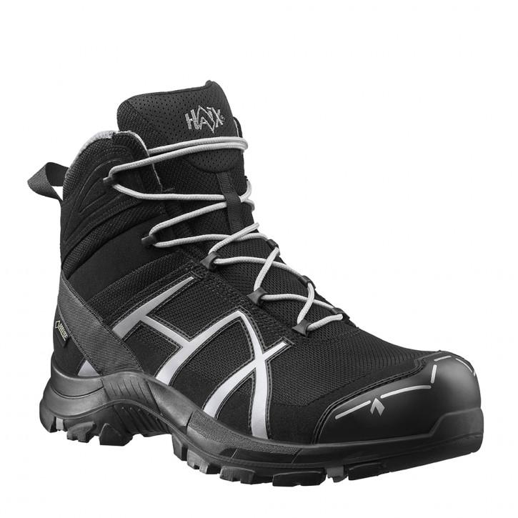 HAIX Black Eagle Safety 40 Mid black/silver
