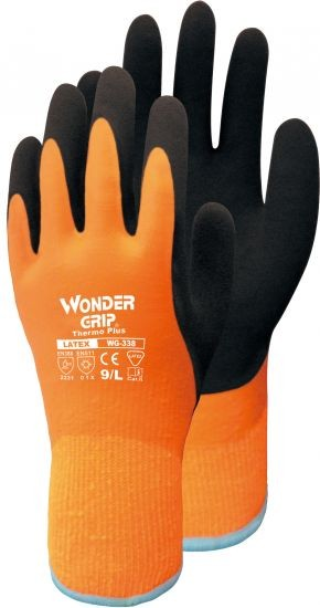 "Winterhandschuhe WG338 ""Thermo plus"" orange"