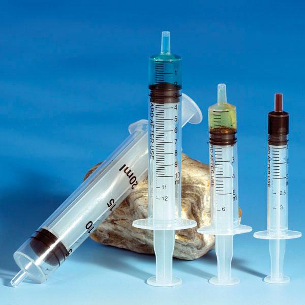 Einmalspritzen Mediware 10/12 ml zentrierter Ansatz 100 Stück