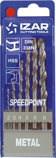 HSS-Spiralbohrer mit Zylinderschaft Izar , 6-teilig