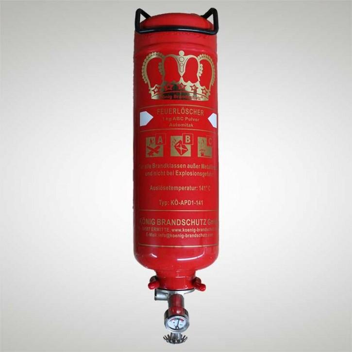 Pulverlöscher 1 kg Dauerdruck Automatic 1 LE Ausführung 141° C