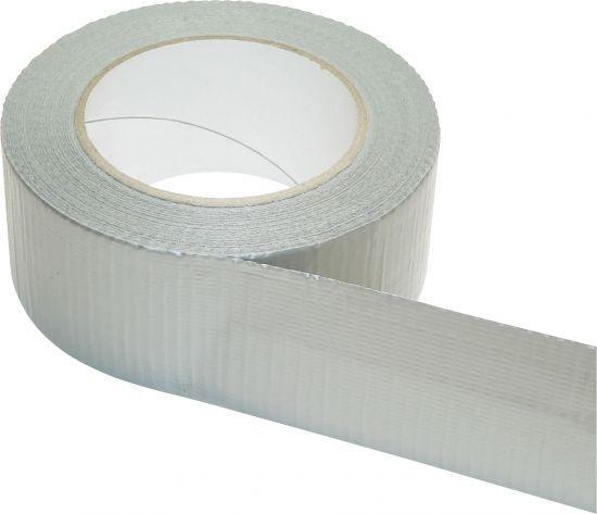 Gewebeklebeband Silber 50 mm x 50 m