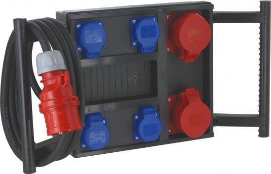 Steckdosenverteiler 16A aus Kunststoff