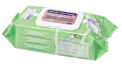 Kohrsolin extra Tissues im Flow-Pack 80 Tücher
