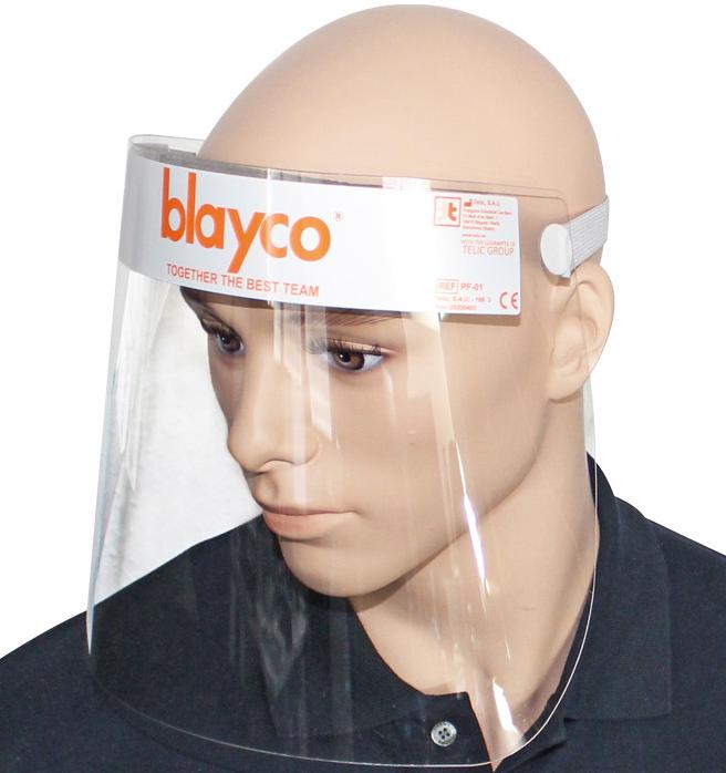 Gesichtsschutz, (Faceshield)