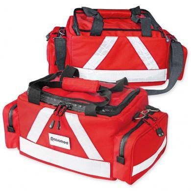 Notfalltasche ''WasserStopp'' ratiomed mittel, rot, leer