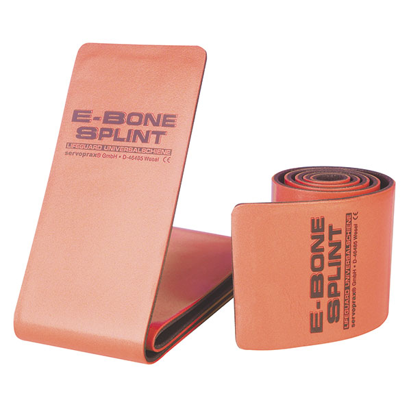 E Bone Splint Lifeguard Standard Farbe: grau-orange