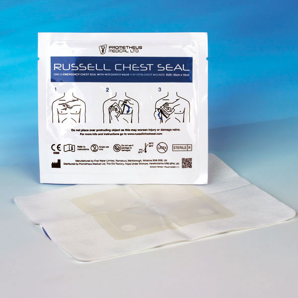 Russell Chest Seal™ Thoraxverschlusspflaster 20 x 15 cm