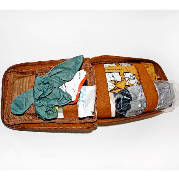 O-IFAK Tasche, gefüllt Farbe: Sand