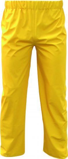 PU-Stretch-Regen-Bundhose, gelb