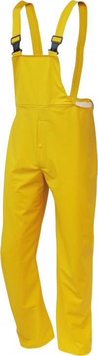 PU-Stretch-Regen-Latzhose, gelb