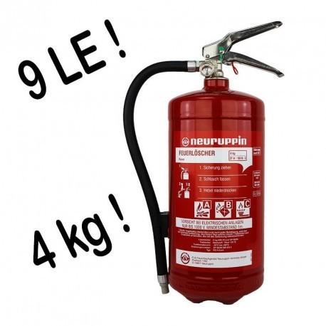 Pulverdauerdruck-Feuerlöscher Neuruppin 4 kg 9 LE DIN EN3