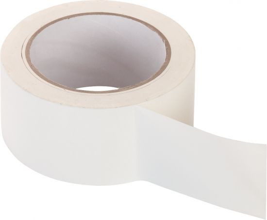 PVC-Band, glatt weiß 50 mm x 33 m