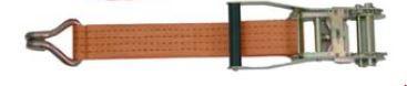 Zurrgurte für Palettennetze / Zurrnetze SR350-332/FT0,3 m