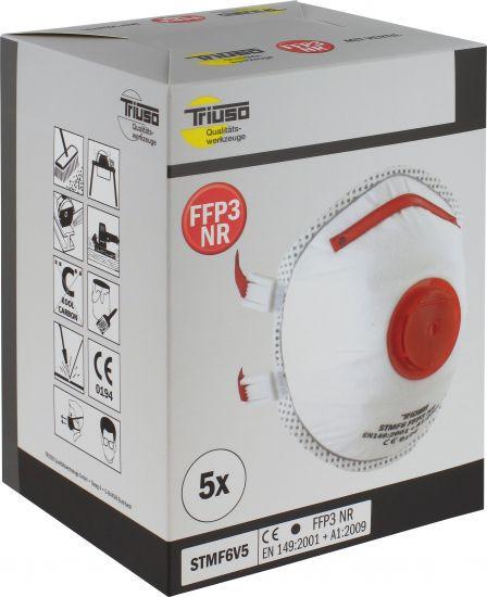 Atemschutzmaske FFP3, SB-Box 5 Stück