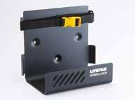 Wandmontagehalterung für die LIFEPAK 1000- oder LIFEPAK 500-Defibrillatoren
