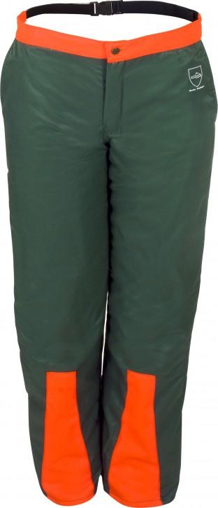 Waldarbeiter-Beinlinge Prevent® Farbe: grün/leuchtorange