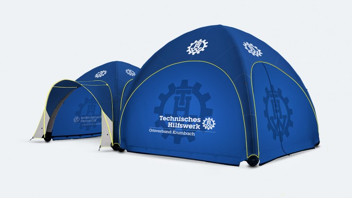 HUMANITY TENT 4000 EMERGENCY (Set THW)