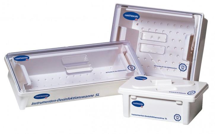 Desinfektionswannen 5 l-Wanne (inkl. Deckel mit Schlitz)