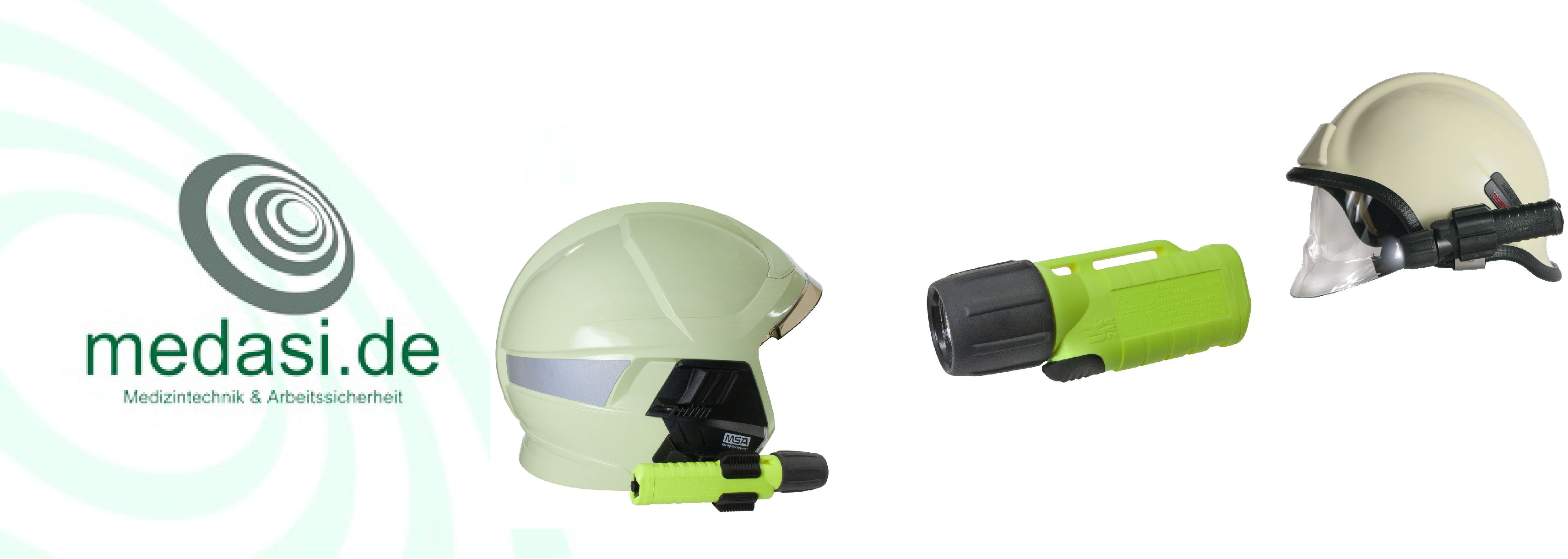 Lampenhalterungen für Helme