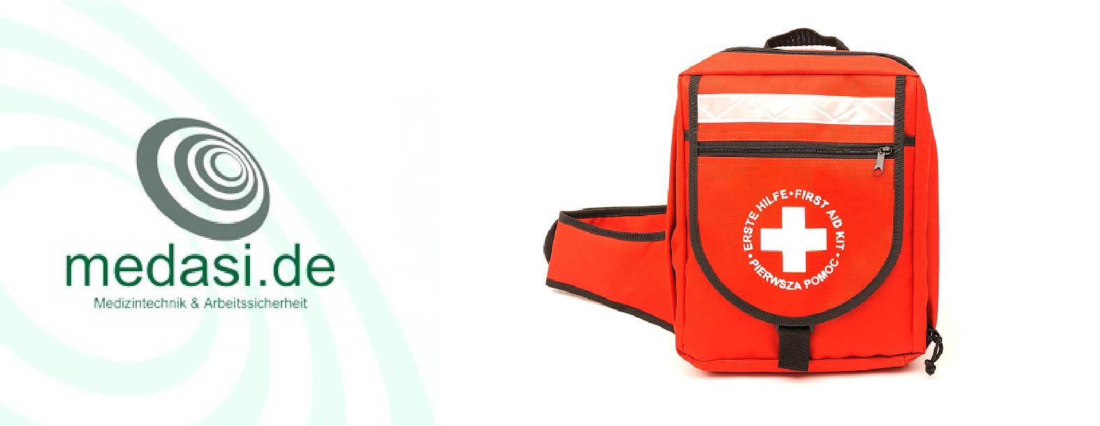 Erste-Hilfe-Notfallrucksäcke