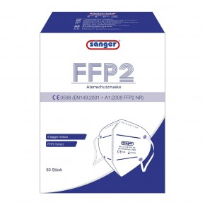 FFP2 Atemschutzmaske 5-lagig 50 Stück
